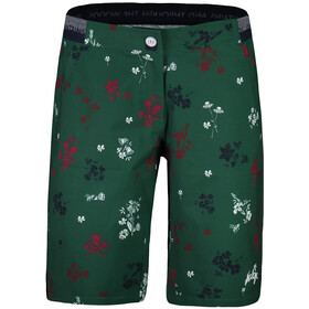 Maloja NeisaM. Bedrukte Multisport Shorts Dames, stone pine mountain meadow